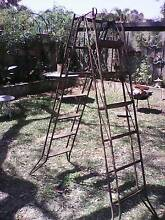Vintage metal Folding ladder 1800 to 3600 Wembley Cambridge Area Preview