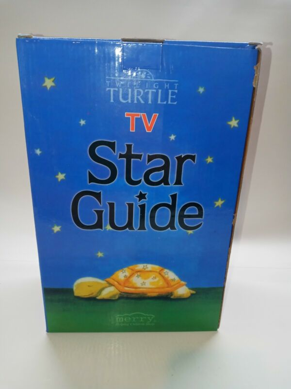 Twilight Turtle Tv Star Guide Night Light Baby Child Soother Sleep Help