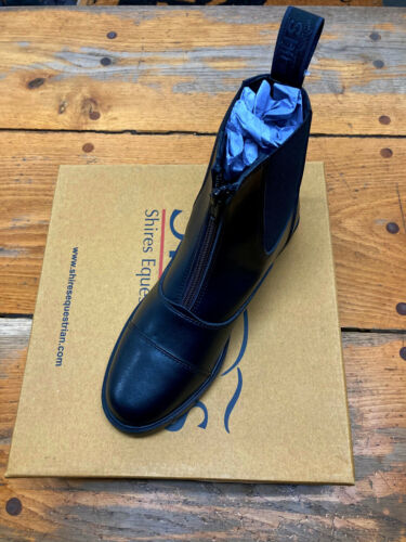 """SHIRES ADULT """"HARVIES"""" PADDOCK BOOTS (SIZE 8US)"""