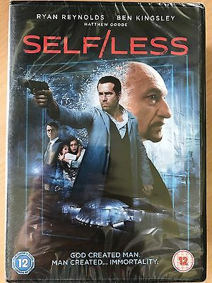 Ryan Reynolds Ben Kingsley SELF / LESS ~ 2015 Action Thriller / Sci-Fi | UK DVD