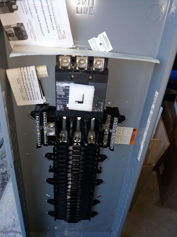 NEW SQUARE D QO342MQ200 MAIN BREAKER BOX 200AMP 240V 3 PHASE 42 SPACES INDOOR