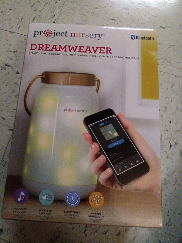 Project Nursery Dreamweaver Smart Light + Sound Soother