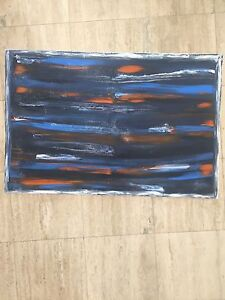 Abstract painting art Surfers Paradise Gold Coast City Preview