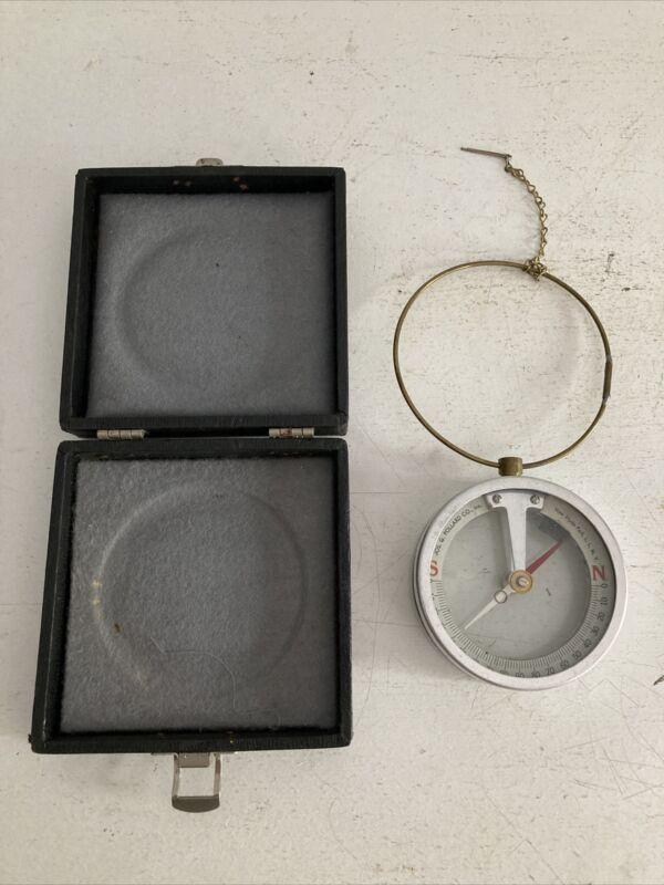 Vintage Jos. G Pollard Aluminum Dip Needle Compass