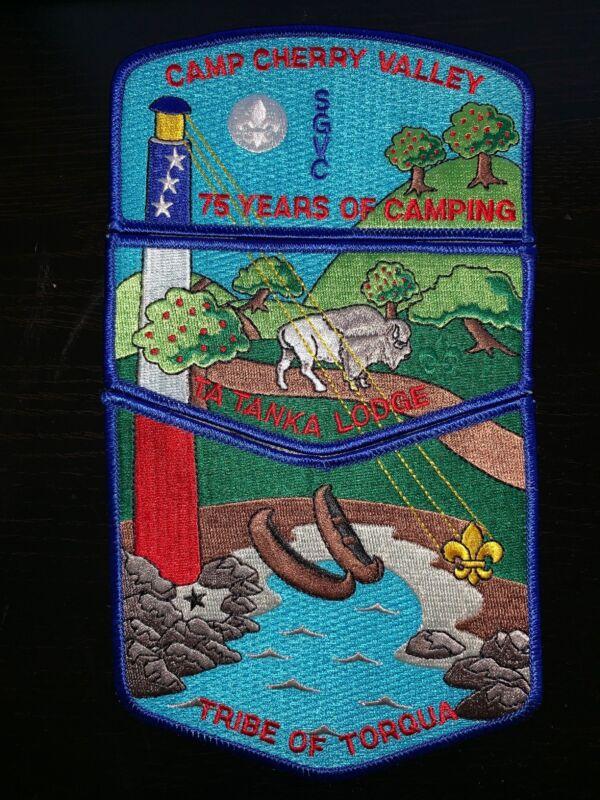 BSA SGVC Camp Cherry Valley Tribe of Torqua boy scout patch - TaTanka488