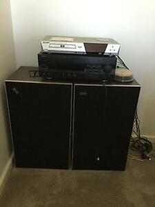 DVD player, Yamaha Amplifier and Leak Speakers North Perth Vincent Area Preview