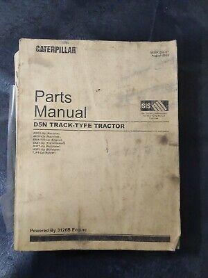 Cat Caterpillar D5n Track-type Tractor Parts Manual
