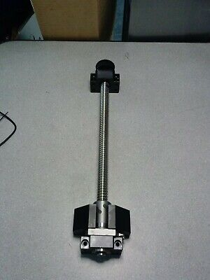 Thk Kc Series Rolled Ball Screw Shaft With Bk Bf 15 Support Unit