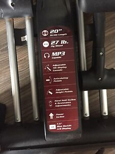 Gym quality elliptical