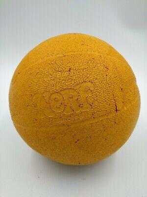 "Nerf Sports Ball 8"" Sports Foam Basketball Vintage Ball - 80s Orange"