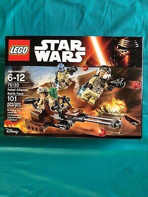 LEGO Star Wars Rebel Alliance Battle Pack 75133 NEW