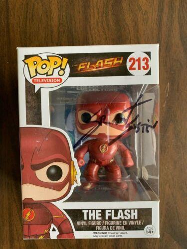DC CW The Flash Grant Gustin Funko Pop Vinyl Autographed Signed JSA COA #6