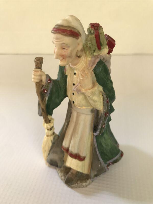 Dillards International Santa Claus Collection La Befana Figurine Italy SC05 1992