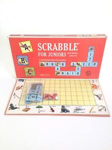 1964 Scrabble for Juniors Board Game
