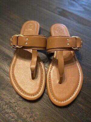 Tory Burch Marsden Flat Thong Sandals NWT Size 7.5