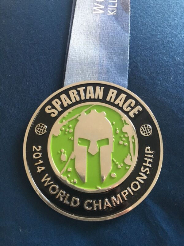 Spartan Race 2014 World Championship Killington Vermont Medal