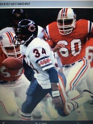 86 New England Patriots vs Chicago Bears dvd Super Bowl 20