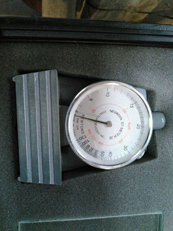 TENSION METER NEWMAN 2E-28168 EXCELLENT CONDITION
