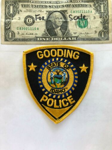 Gooding Idaho Police Patch Un-sewn in great shape