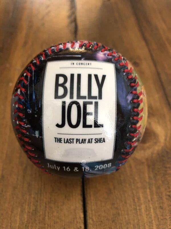 "Billy Joel ""Last Play at Shea"" promo baseball"