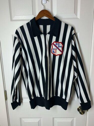 Vintage 1983 Hockey Referee Jersey Size XL