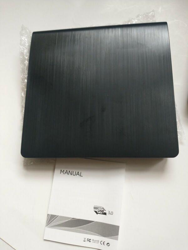 External Optical Drive High Speed USB 3.0 CD/DVD Player Reader For Laptop PC