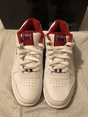 Reebok G Unit G6 II Sneakers New with Box Men's Size 8 White/Red/Royal 2004