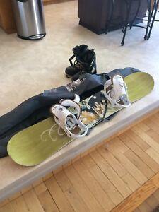 Snowboard Set Up