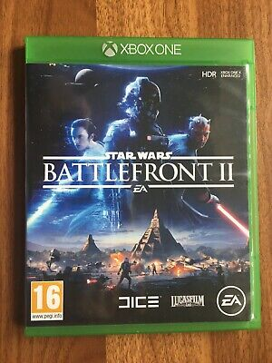 STAR WARS : BATTLEFRONT II (2) (XBOX ONE) VERY GOOD CONDITION