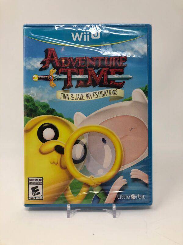 Adventure Time: Finn and Jake Investigations Nintendo Wii U U01068