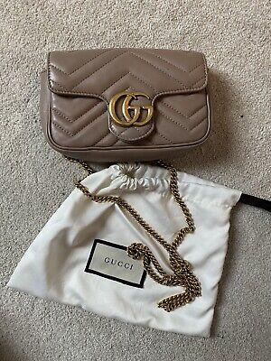 Gucci Super Mini Marmont bag 100% Authentic
