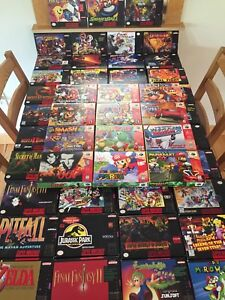 Snes and N64 Boxes (Repro)