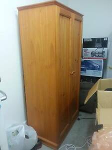 Wardrobe for Sale with Hanging Rail and Shelf Footscray Maribyrnong Area Preview