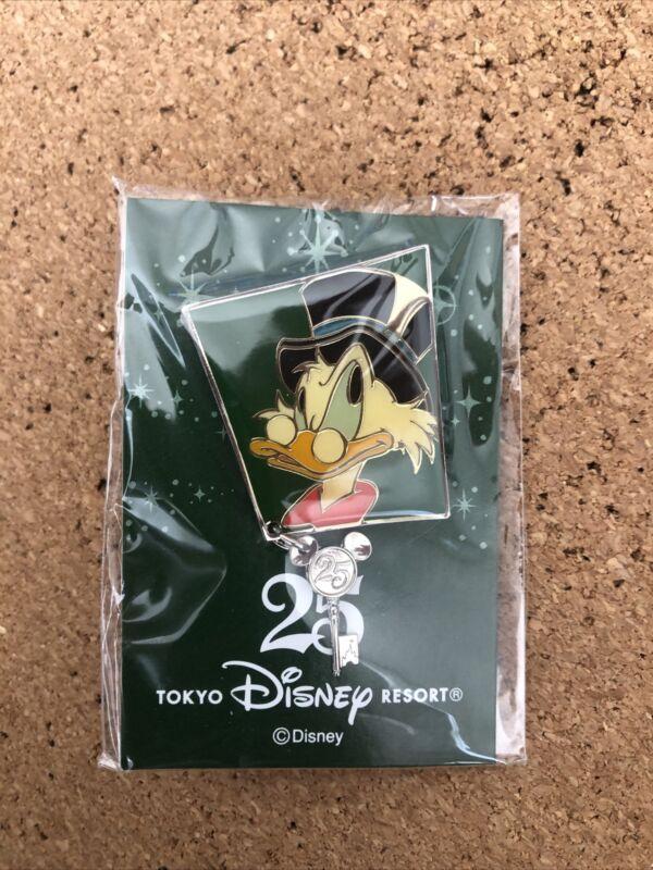 Tokyo Disney Resort Pin 25th Anniversary No.15 Scrooge McDuck