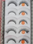 5 Pair of Human Hair False Eyelashes - Mink/Synthetic Kallangur Pine Rivers Area Preview