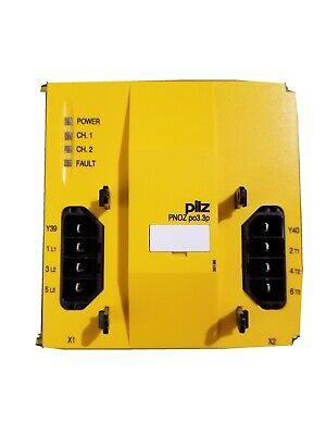 Pilz  Safety Relay Pnoz Po3.3p 3n0  Id No773632