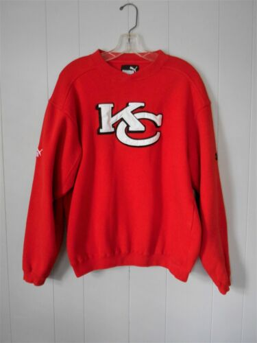 PUMA  Red Kansas City Chiefs KC Sweatshirt Men's Size, Med