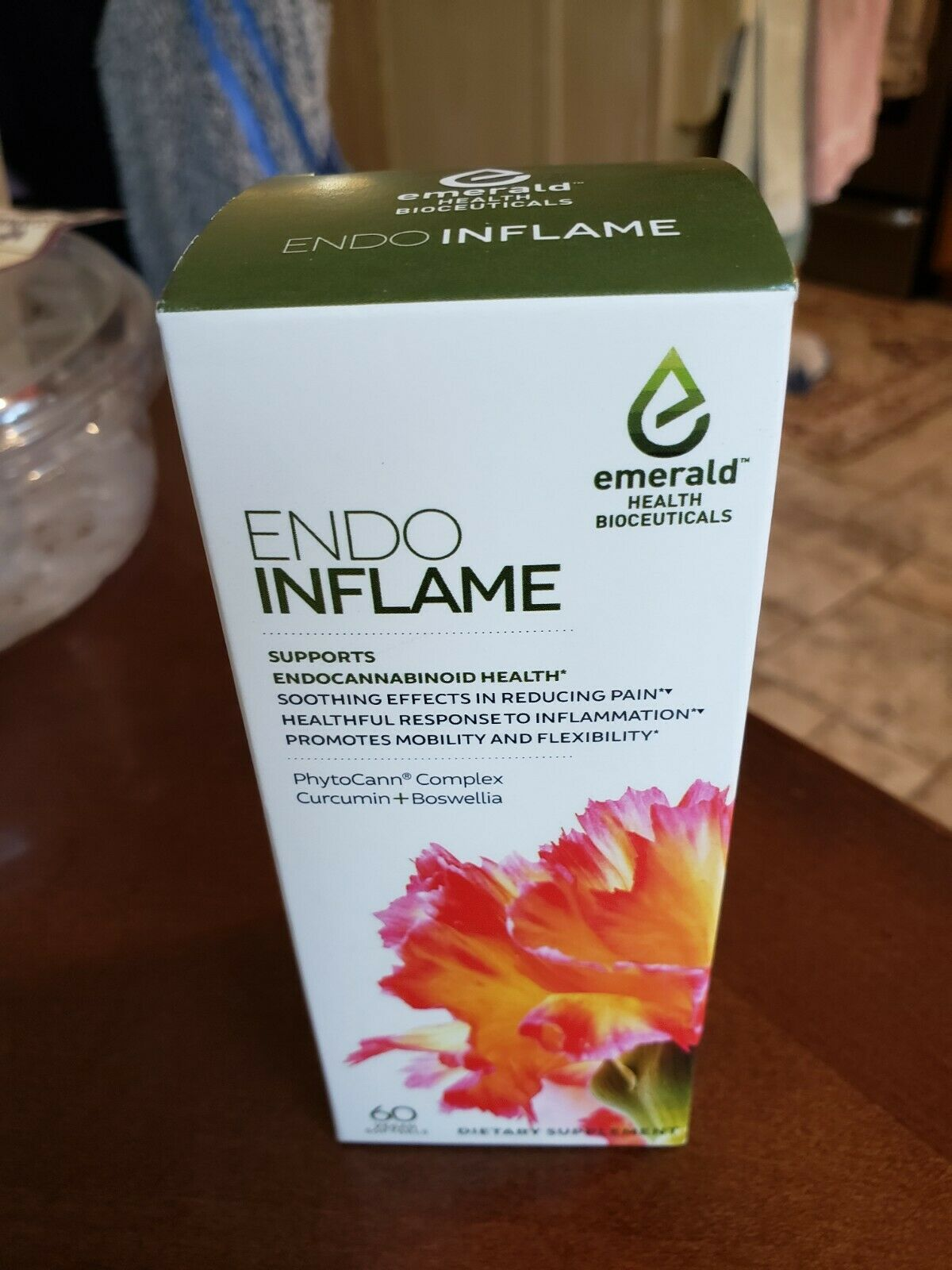 Emerald Health Bioceuticals Endo Inflame 60 Vegan Softgels Ships FAST Buy It Now