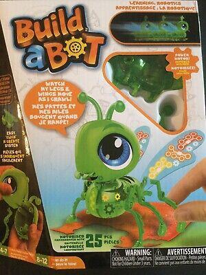 Build A Robot Kit (Build A Bot Grasshopper Robotics Robot Kit BNIB Free)