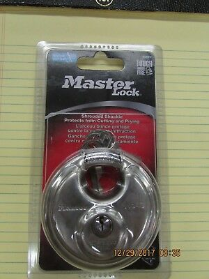 Padlock Master 40dpf Shrouded Shackle New In Package Never Used