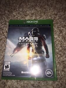 Selling Mass Effect Andromeda for Xbox One.