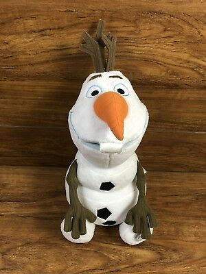 "DISNEY FROZEN Authentic Olaf 16"" Large Plush Snowman Stuffed Doll Frozen 2"
