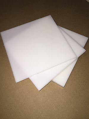 Natural Hdpe Plastic Sheet 14 X 85 X 12 And 85 X 13