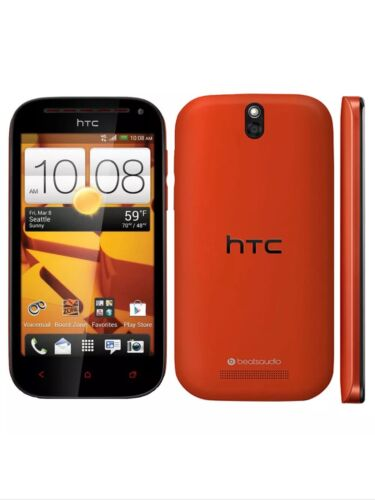 Boost Mobile Htc One Sv C525 Red Android 4g Lte Amazing C...