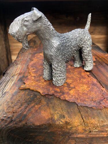 Blue Keene Terrier Figurine