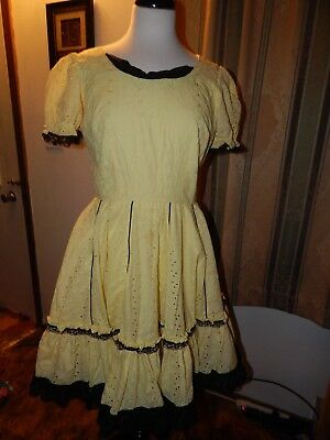 Vintage Home made Square Dance Dress  (Homemade Dance Costumes)