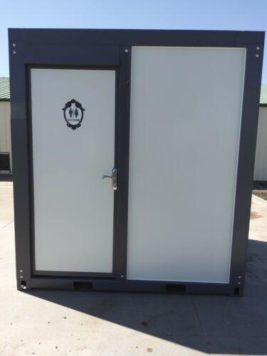 Bastone Portable Toilet Bathroom Mobile Restroom w/ sink shower 110V NEW