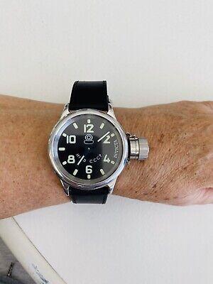 Invicta Men Original Russian Diver Swiss Made ETA Unitas 6497 Mechanical Watch
