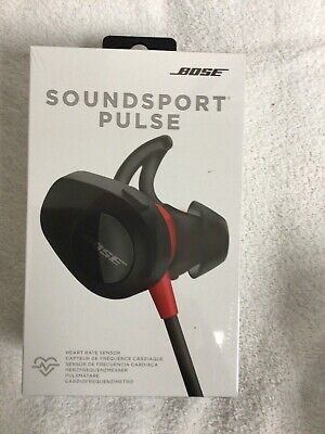 Bose SoundSport Pulse Neckband Wireless Headphones - Red * BRAND NEW *