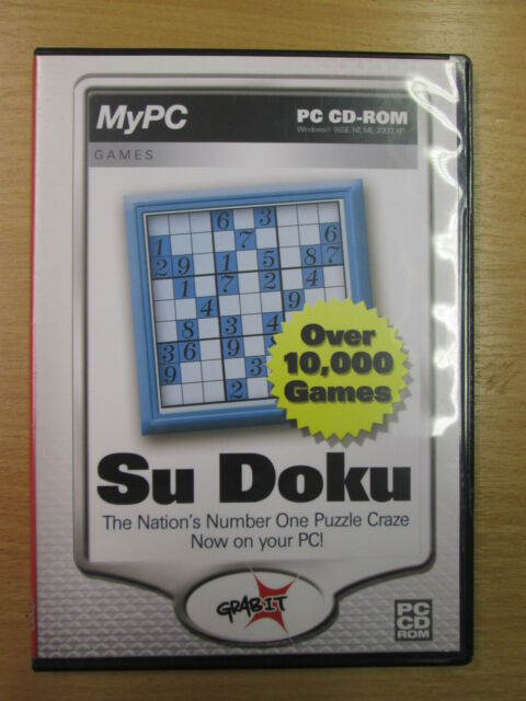 Su Doku  Puzzle Game   PC CD-ROM  Version